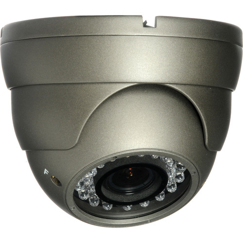 Honeywell HD31 Super High Resolution Day/Night Indoor/Outdoor IR Ball Camera (Dark Gray)