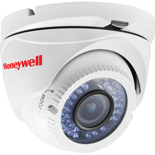 Honeywell HD31WH Super High Resolution Day/Night Indoor/Outdoor IR Ball Camera (White)