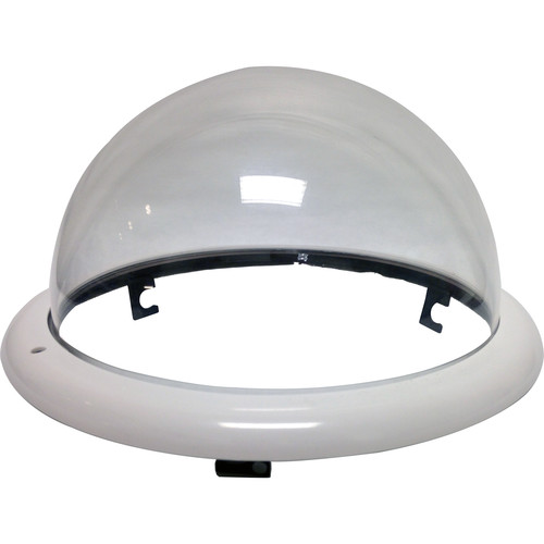 Honeywell Clear Dome with Black Trim Ring for Indoor In-Ceiling Back Can