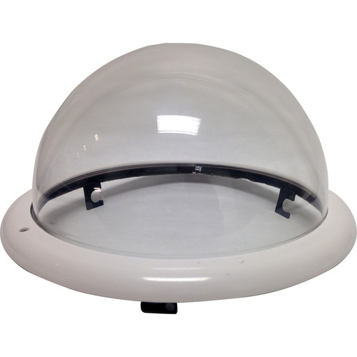 Honeywell Clear Dome with White Trim Ring for Indoor In-Ceiling Back Can