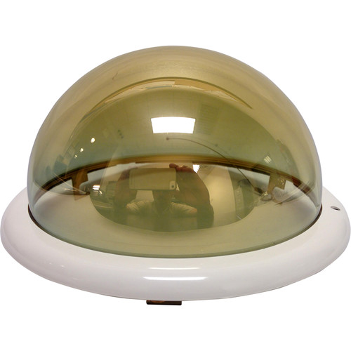 Honeywell Smoked Dome with Black Trim Ring for Indoor In-Ceiling Back Can