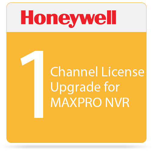 Honeywell 1-Channel License Upgrade for MAXPRO NVR