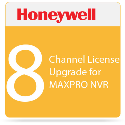 Honeywell 8-Channel License Upgrade for MAXPRO NVR