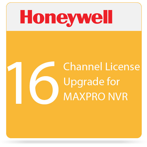 Honeywell 16-Channel License Upgrade for MAXPRO NVR