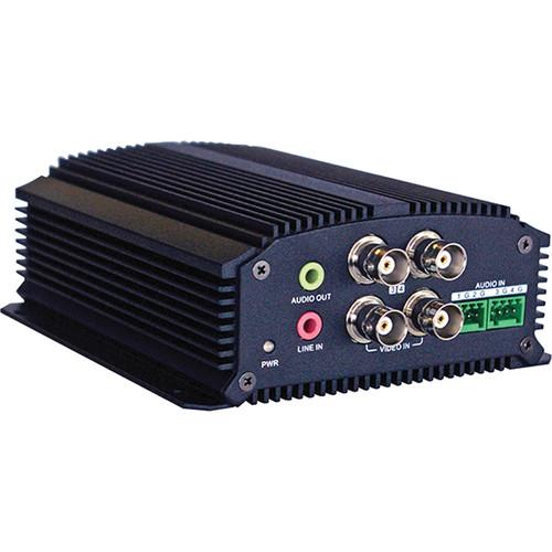 Honeywell HVE4 4-Channel H.264 Video/Audio Encoder