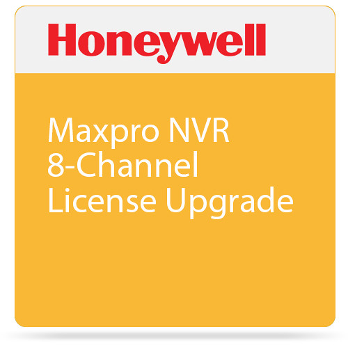 Honeywell Maxpro NVR 8-Channel License Upgrade