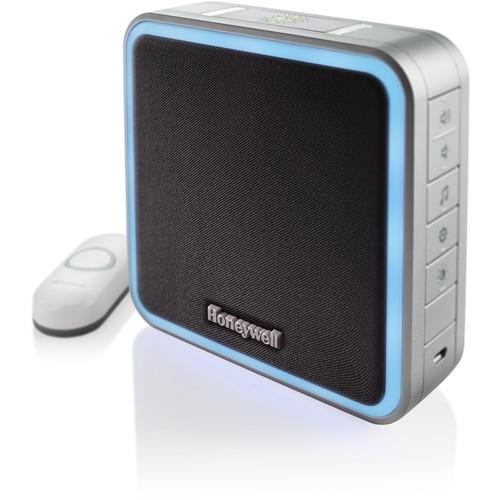 Honeywell Series 9 Wireless Portable Doorbell with Halo Light & Push Button