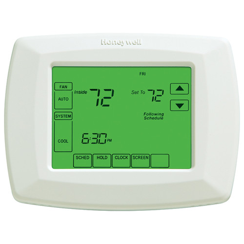 Honeywell RTH8580ZW 7-Day Programmable Touchscreen Thermostat with Z-Wave Module