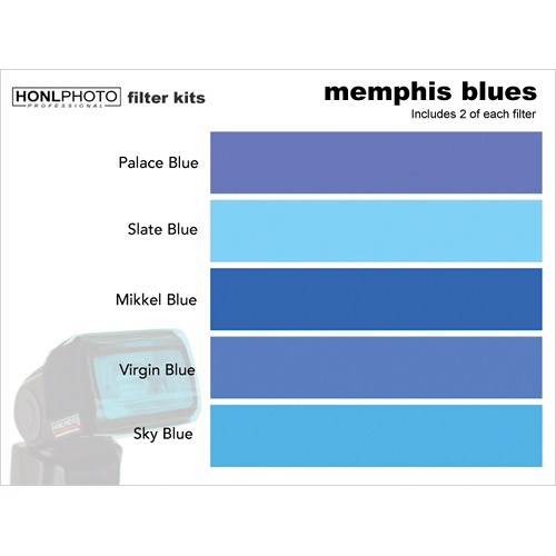 Honl Photo Memphis Blues Photo Filter Kit