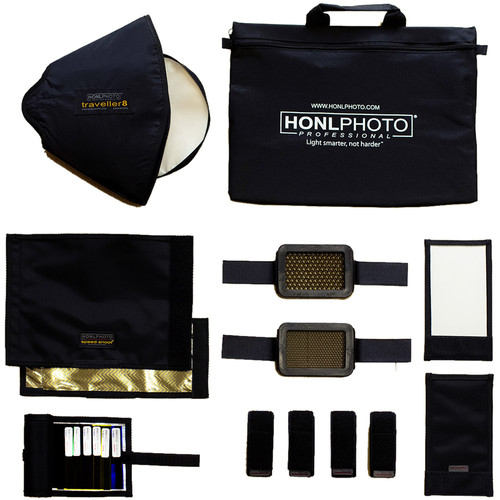 Honl Photo 16-Piece Master Small Flash Lighting Kit