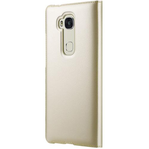 Huawei 5X Flipcover (Gold)