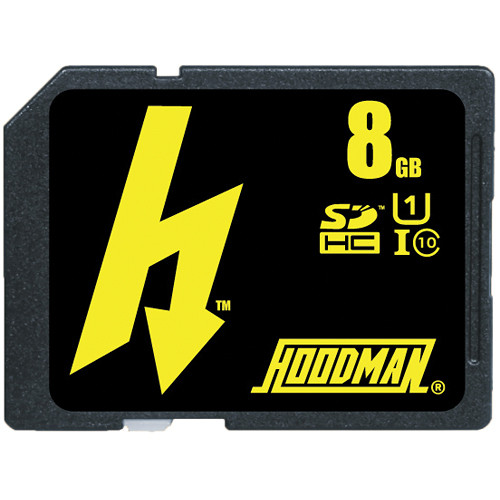 Hoodman 8GB SDXC Class 10 UHS-1 Memory Card