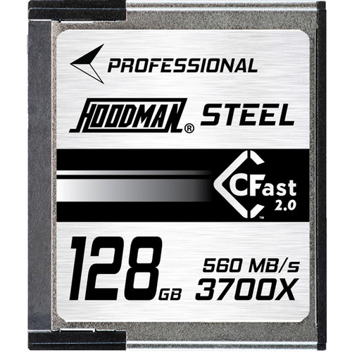 Hoodman 128GB HCFAST Steel Memory Card