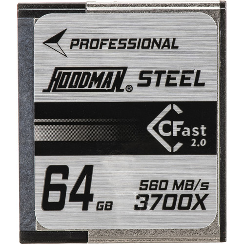 Hoodman 64GB HCFAST Steel Memory Card