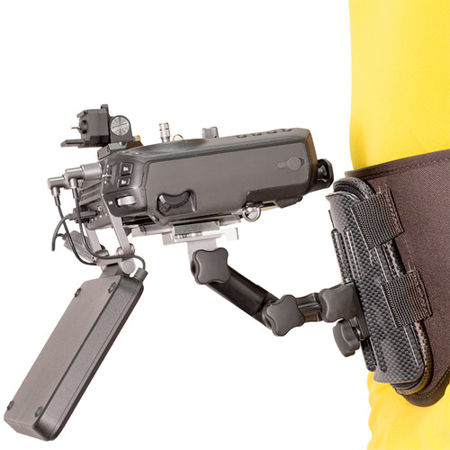 Hoodman Drone Controller Support Belt with DJI Cendence Mount Kit
