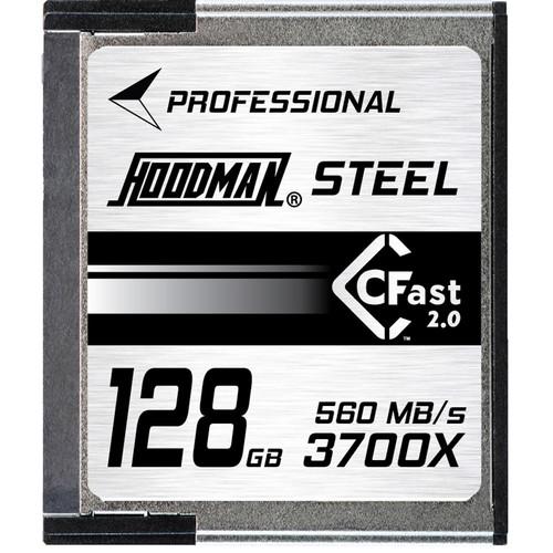 Hoodman 128GB Steel CFast 2.0 Memory Card