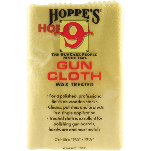 """Hoppes 12x17"""" Wax Treated Gun Cloth"""