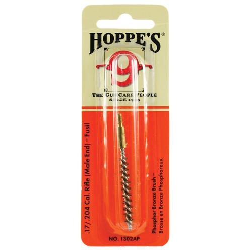 Hoppes Phosphor Bronze Brush for .17 Cal, Centerfire, 17 HMR, .204 Rifles