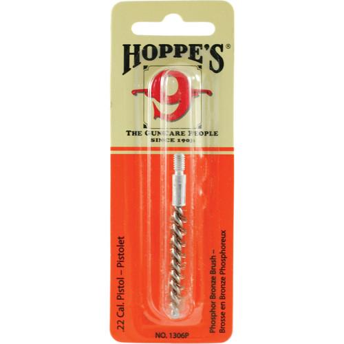 Hoppes Phosphor Bronze Pistol Brush (.22 Caliber)