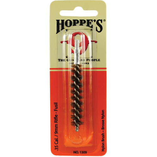 Hoppes Nylon Cleaning Brush for .35 Caliber and 9mm Rifles