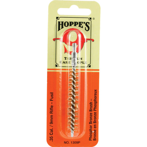 Hoppes Phosphor Bronze Brush for .35 Cal, 9mm Rifles