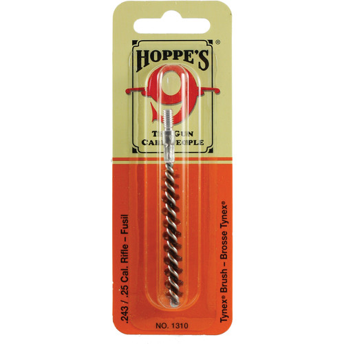 Hoppes Nylon Cleaning Brush for .243 and .25 Caliber Rifles