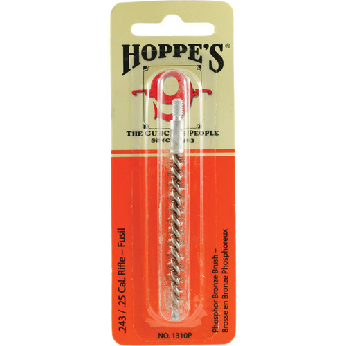 Hoppes Phosphor Bronze Brush for .243, .25 Cal Rifles