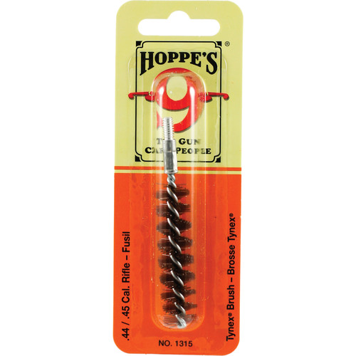 Hoppes Nylon Cleaning Brush for .44 and .45 Caliber Rifles