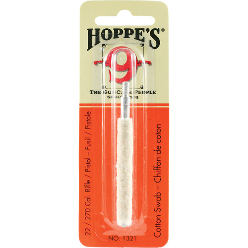 Hoppes Cleaning Swab for .22 to .270 Caliber Rifles