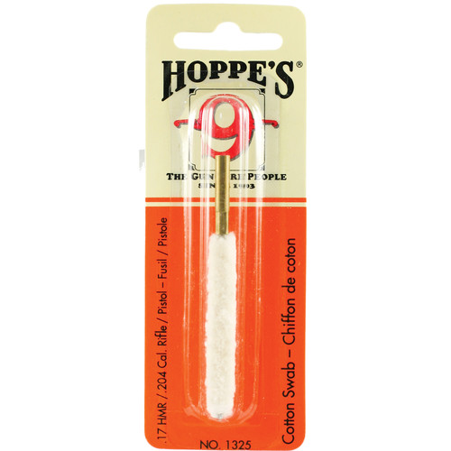 Hoppes Cleaning Swab for 17 HMR to .204 Rifles