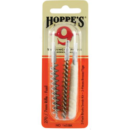 Hoppes 3-Pack Brush/Swab Kit