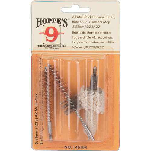 Hoppes 3-Pack Brush and Mop Kit