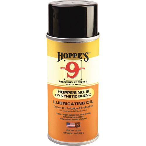 Hoppes Synthetic Blend Lubricating Oil (5 oz Aerosol Can)