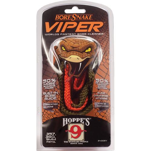 Hoppes BoreSnake Viper (.357, 9mm, .380, .38 Cal Handguns)