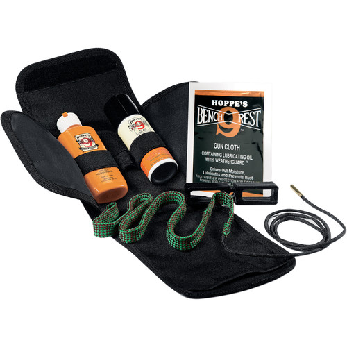 Hoppes BoreSnake Gun Cleaning Kit (.380, 9mm, .38, .357 Cal Pistols)