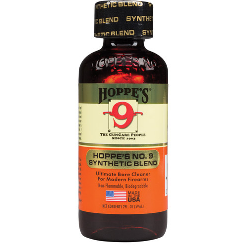 Hoppes No.9 Synthetic Blend Bore Cleaner (2oz Bottle)