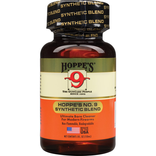 Hoppes No.9 Synthetic Blend Bore Cleaner (5oz Bottle, Clamshell Packaging)