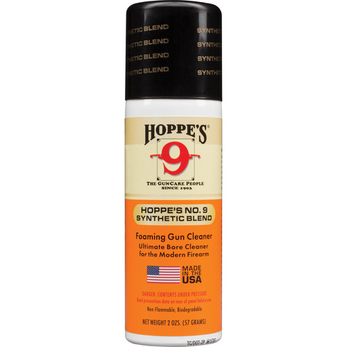 Hoppes Famous No.9 Gun Bore Cleaner (2 Ounce Aerosol Can)