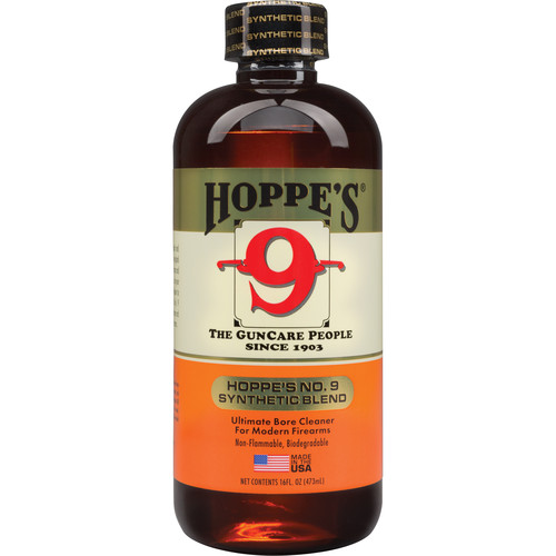 Hoppes No.9 Synthetic Blend Bore Cleaner (1-Pint Bottle)