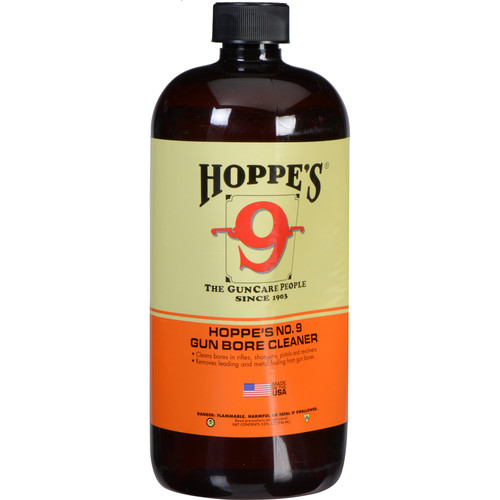 Hoppes Famous No.9 Gun Bore Cleaner (1 Quart Bottle)