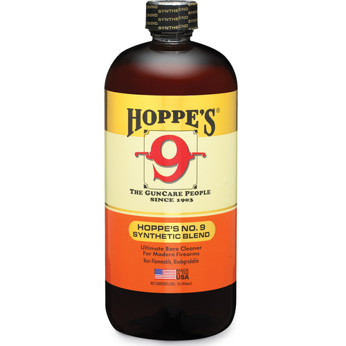 Hoppes No.9 Synthetic Blend Bore Cleaner (1-Quart Bottle)