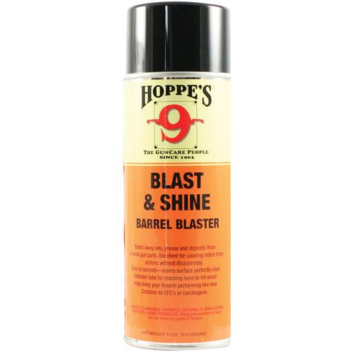 Hoppes Blast & Shine Barrel Cleaner (11oz Aerosol Can)