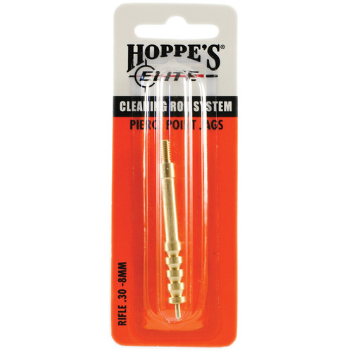 Hoppes Elite Pierce Point Rifle/Pistol Cleaning Jag (.30-8mm)