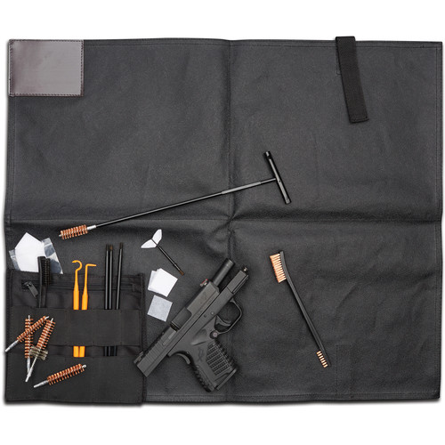 Hoppes Range Cleaning Kit with Mat