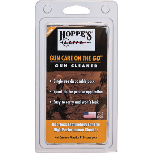 Hoppes Elite Gun Cleaner Pillow Pack (Clamshell Packaging)