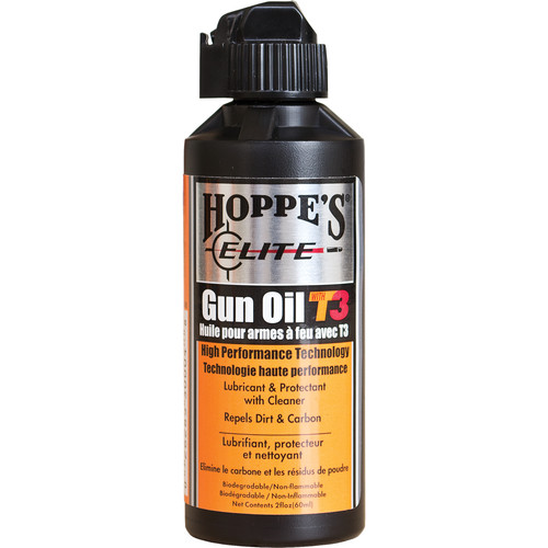 Hoppes Elite Gun Oil with T3 (2 Ounce Bottle)