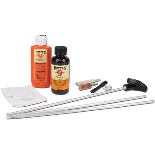 Hoppes 12-Gauge Shotgun Cleaning Kit with Aluminum Rod (Box)