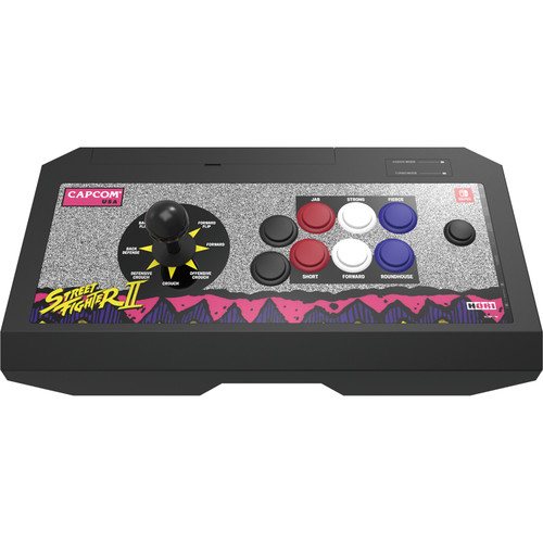Hori Real Arcade Pro V Controller for Nintendo Switch (Street Fighter Classic Arcade Edition)