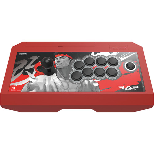 Hori Real Arcade Pro V Controller for Nintendo Switch (Street Fighter Ryu Edition)