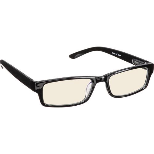 HornetTek GL-001-K Gaming Glasses with Blue Light Blocking Protection (Black)